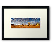 The Pinnacles (Panorama) Framed Print