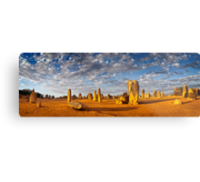 The Pinnacles (Panorama) Metal Print