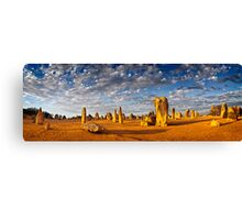 The Pinnacles (Panorama) Canvas Print