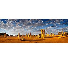 The Pinnacles (Panorama) Photographic Print