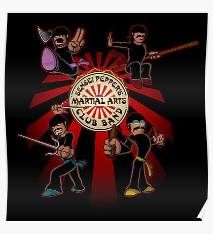Sensei Pepper's Martial Arts Club Band (2012) Poster