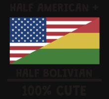 Half Bolivian 100% Cute Kids Tee