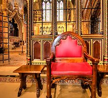 High Chair at St. Giles by hebrideslight