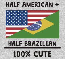 Half Brazilian 100% Cute One Piece - Short Sleeve