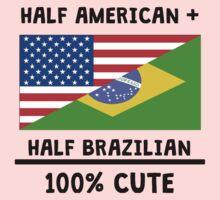 Half Brazilian 100% Cute Kids Tee