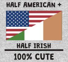 Half Irish 100% Cute Baby Tee