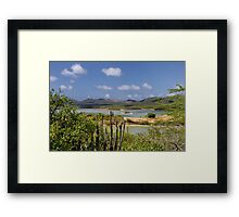 Goto Lake, Bonaire Framed Print