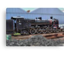 South Australian Steam Locomotive Canvas Print