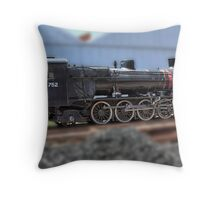 South Australian Steam Locomotive Throw Pillow