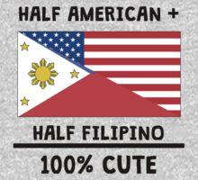 Half Filipino 100% Cute Kids Tee