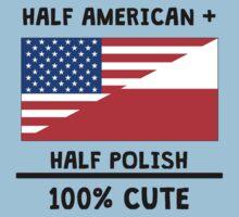 Half Polish 100% Cute Kids Tee