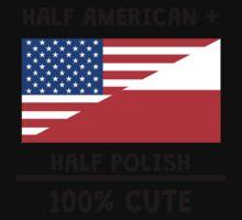 Half Polish 100% Cute One Piece - Short Sleeve