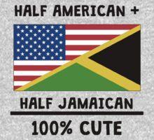 Half Jamaican 100% Cute One Piece - Long Sleeve