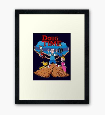 Doug Time. Framed Print