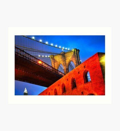 Brooklyn Bridge: NYC Art Print