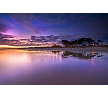 Papamoa surf club pre dawn Photographic Print