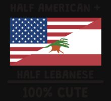 Half Lebanese 100% Cute One Piece - Short Sleeve