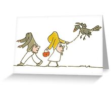 Funny Couple Greeting Card