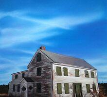 Abandoned house by Roxanne Vanslette