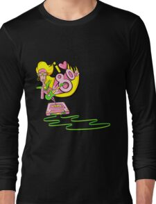 I love the 80's glam rockstar Long Sleeve T-Shirt