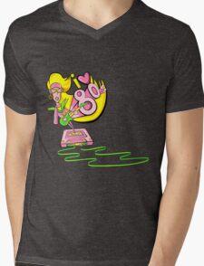 I love the 80's glam rockstar Mens V-Neck T-Shirt