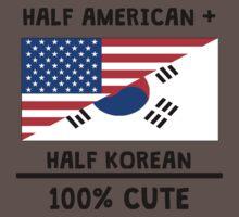 Half Korean 100% Cute One Piece - Short Sleeve
