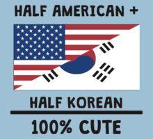 Half Korean 100% Cute Baby Tee