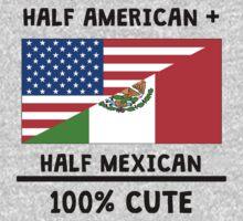 Half Mexican 100% Cute One Piece - Long Sleeve