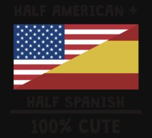 Half Spanish 100% Cute One Piece - Short Sleeve