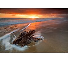 Deadwood Orange Rise ~ Papamoa Photographic Print