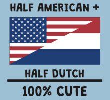 Half Dutch 100% Cute Kids Tee