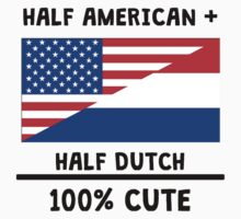 Half Dutch 100% Cute Kids Tee