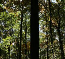 Foliage Silhouette Sticker