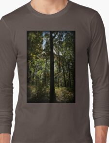 Foliage Silhouette Long Sleeve T-Shirt