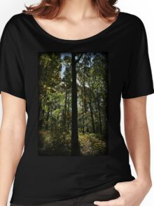 Foliage Silhouette Women's Relaxed Fit T-Shirt