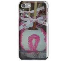 """National Breast Cancer Month"". iPhone Case/Skin"