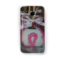 """National Breast Cancer Month"". Samsung Galaxy Case/Skin"