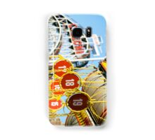 Coney Island Astroland and Cyclone: Brooklyn, NYC Samsung Galaxy Case/Skin