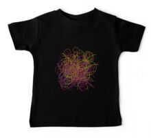 Colorful tangled wires Baby Tee