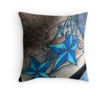 AC V Throw Pillow