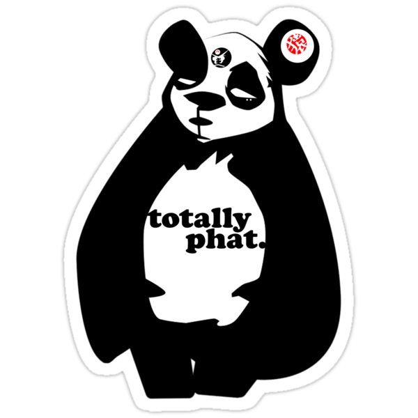 Phat Panda by Monkeytotem
