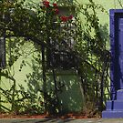 Blue Door in Gulfport by Ginny Schmidt