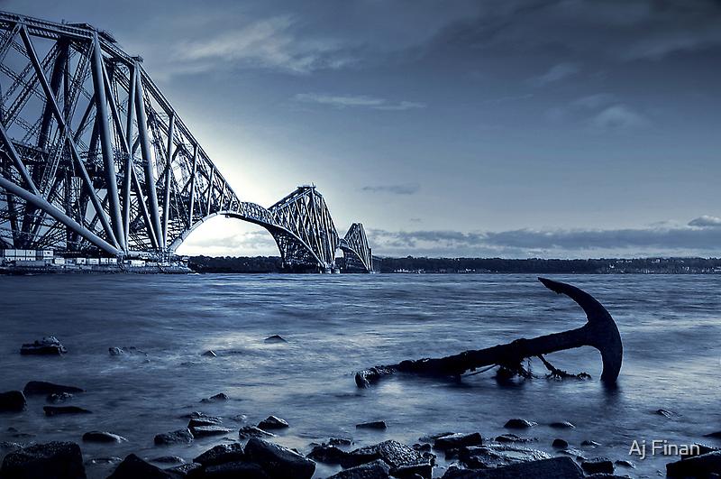 The Forth Rail Bridge Scotland by Aj Finan