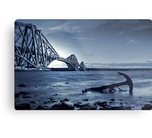 The Forth Rail Bridge Scotland Metal Print