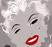 Marilyn in Retro by Trish Loader