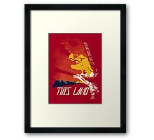This Land (Before It All Went Wrong) Framed Print