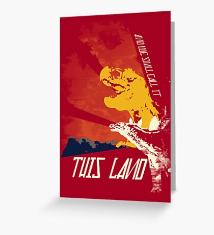 This Land (Before It All Went Wrong) Greeting Card