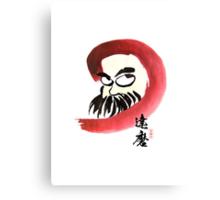 達磨 Daruma Canvas Print