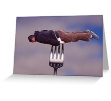 Hunger strike Greeting Card