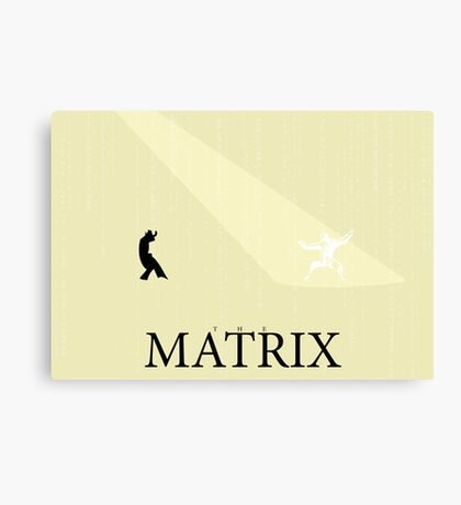The Matrix - Minimal Poster Canvas Print